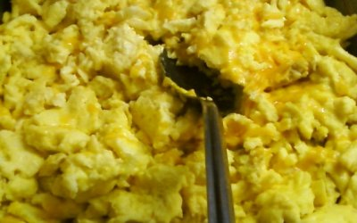 Scrambled Egg with Cheese