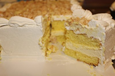 Specialty Cake Lemon Mousse Cake